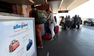 Allegiant airlines check in