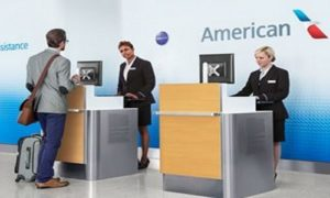 American airlines check in