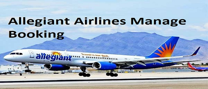 Allegiant airlines manage booking