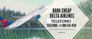 Delta airlines numbro de telefono
