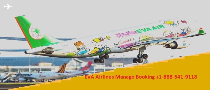 Eva airlines manage booking