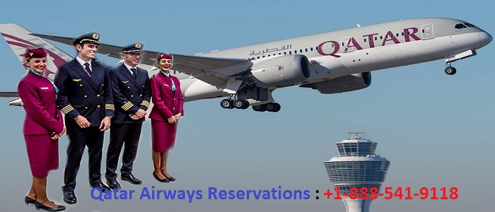 Qatar Airways Reservations +1-888-541-9118 Manage Booking | 40% Off