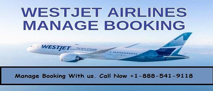 Westjet Manage Booking