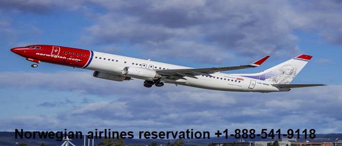Norwegian airlines reservation
