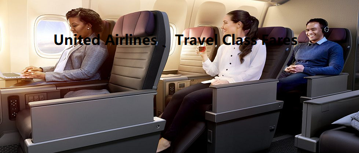 United Airlines Travel Class