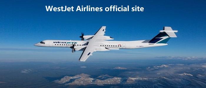 WestJet Airlines official site
