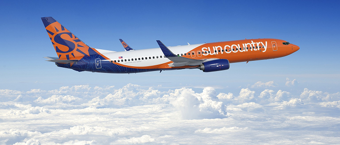 Sun country airlines book a flight