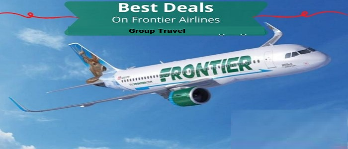 Frontier airlines group travel